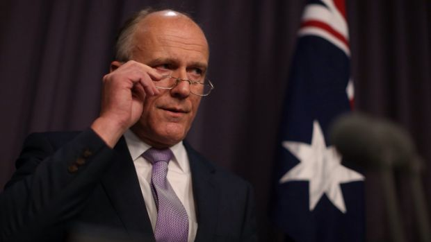 Public Service Minister Eric Abetz said on Wednesday he was reviewing the hiring freeze.