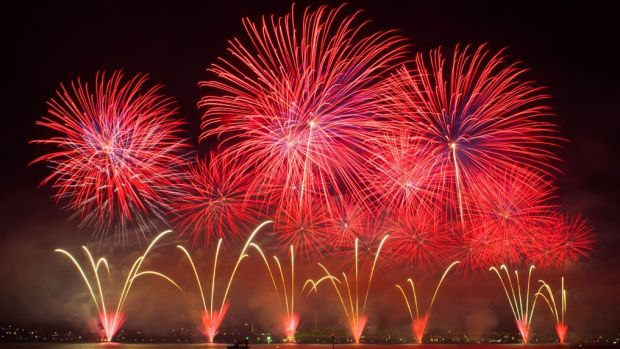 A number of fireworks displays are planned for the Perth area on New Year's Eve.