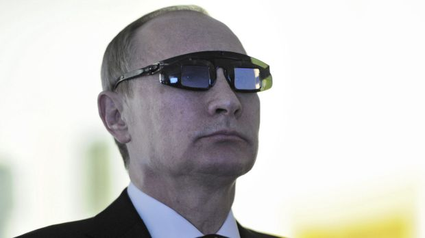 "Vladimir Putin: ""This is not an army, this is a foreign legion - in this particular case NATO's foreign legion."""