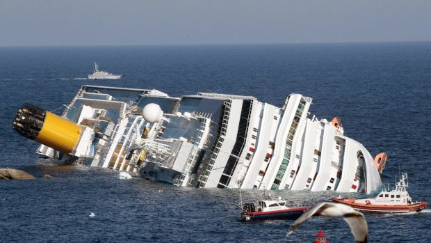 32 people died when the Costa Concordia cruise shipped hit rocks off the Italian island of Giglio on January 12, 2012.