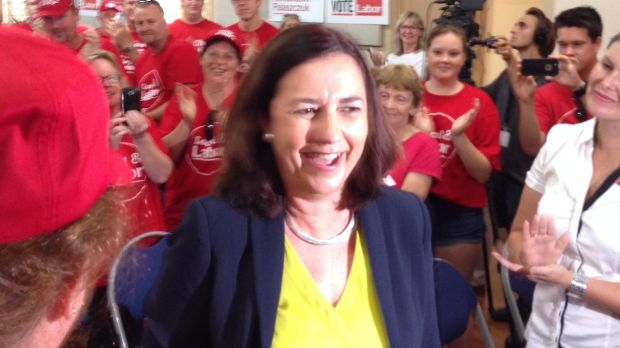 Labor Annastacia Palaszczuk calls it a new chapter in Labor history.