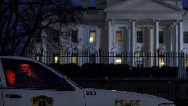 A member of the Secret Service witnessed the drone fly in at low altitude and crash land.
