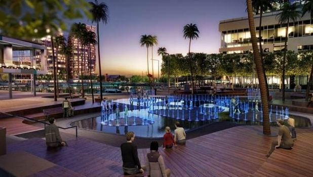 How the new $10m project is expected to look when Elizabeth Quay is unveiled in spring