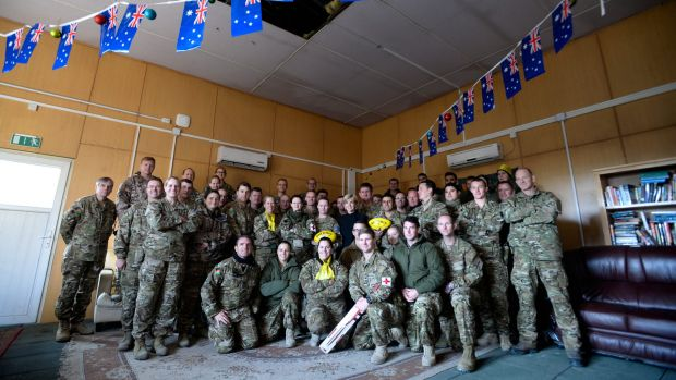 About 400 Australian troops remain in Afghanistan. Some in Kabul were visited by Foreign Affairs Minister Julie Bishop ...