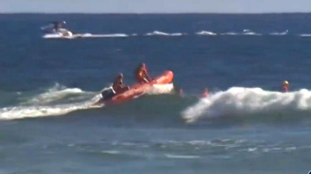 A search for a missing swimmer has been called off after the discovery of a body.