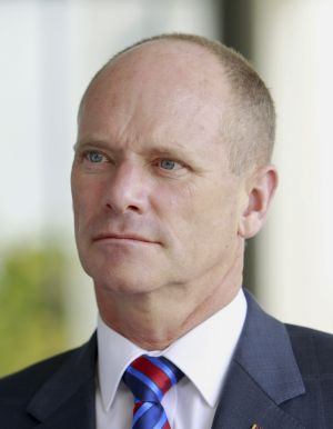 Premier Campbell Newman/