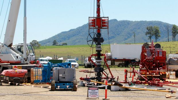 AGL has halted its CSG operations in Gloucester.