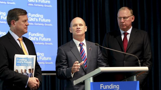 Though nobody will speak of alternate leadership options for the LNP, Newman has been emphasising the word 'team' in his ...