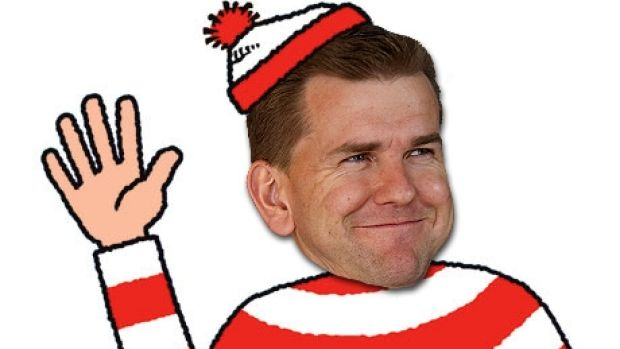 Queensland Attorney-General Jarrod Bleijie has been as seldom spotted as Wally during the LNP's re-election campaign.