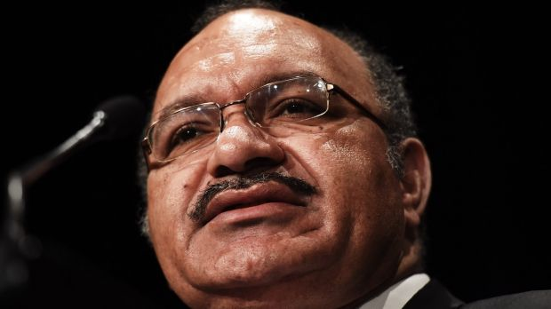 "Papua New Guinea Prime Minister Peter O'Neill: ""We expect the rule of law to prevail."""