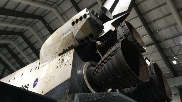 Endeavour's three main engines.