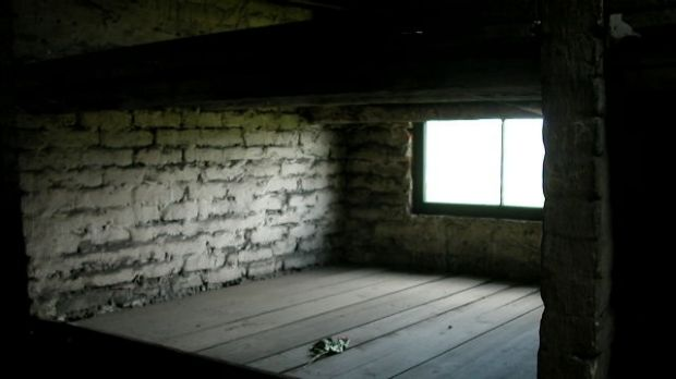 The 'bed' used by Josh Frydenberg's great-aunt in Auschwitz.