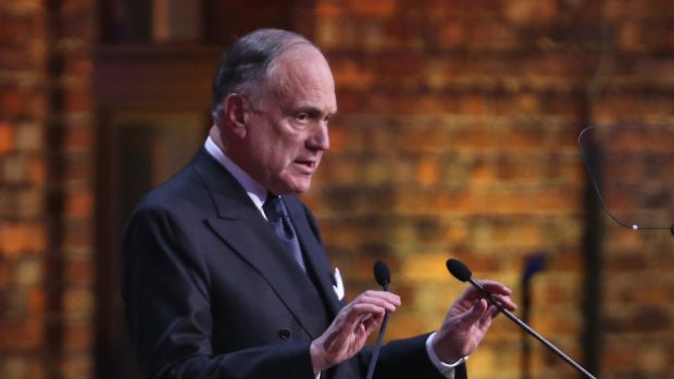 """A """"new storm of anti-Semitism"""" was sweeping through Europe: Ronald Lauder, President of the World Jewish Congress."""