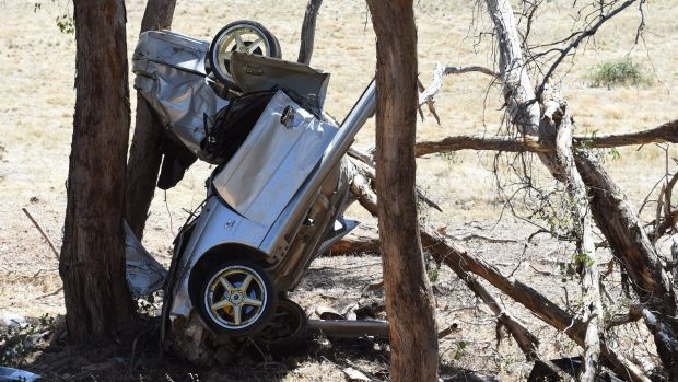 Four young men died in this crash at Pyalong.
