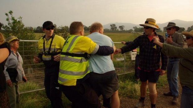 In a bind: AGL's Gloucester CSG operations face twin probes.