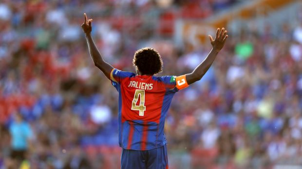 Out: Former Newcastle Jets captain Kew Jaliens.