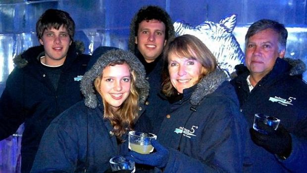 The van Breda family ... from right, parents Martin and Teresa and 22-year-old son Rudi have been killed with an axe. ...