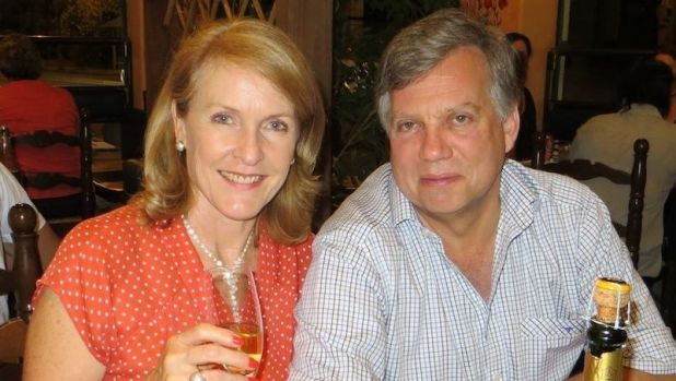 Theresa van Breda, 55, and her husband Martin, 54, lived in Perth for six years before returning to South Africa.