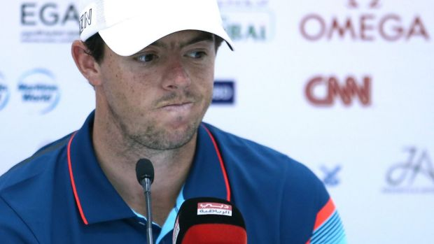 Press conference adjourned: the unfortunate words of the European Tour media organiser at Rory McIlroy's press conference.