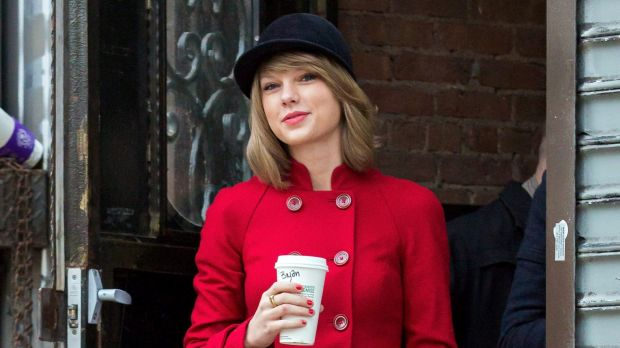 Taylor Swift in New York on January 17, 2015.