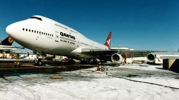 """Qantas is donating the aircraft, also known as """"City of Canberra"""" to the Historical Aircraft Restoration Society (HARS), ..."""