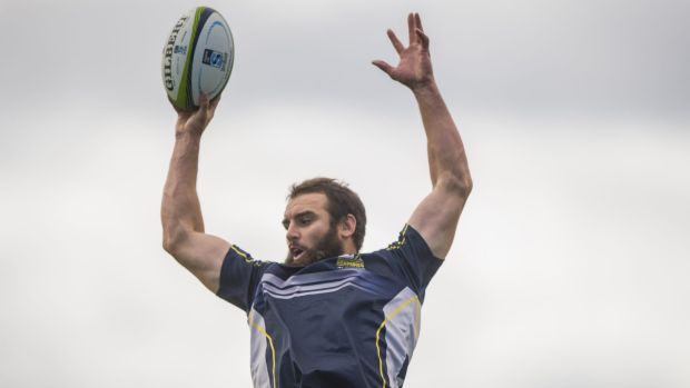Brumbies lock Scott Fardy wants to re-sign with the club.