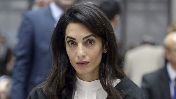 Amal Clooney wants a meeting with the Egyptian president.