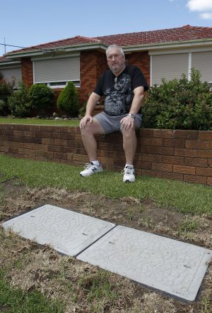 Losing patience: Dapto man Noel Brophy has been waiting since October for Telstra to connect his home internet and phone.