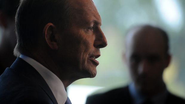 Reeling: Prime Minister Tony Abbott has lost the confidence of his backbench.