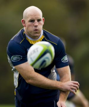 Brumbies captain Stephen Moore is ready to make a comeback.