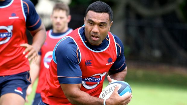Big hits: Wycliff Palu at NSW training.