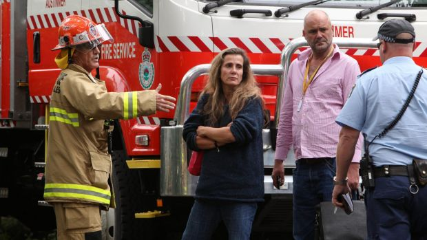 Former HSU boss Kathy Jackson after a suspicious fire at her home north of Wollongong in late January.