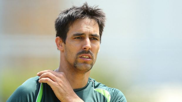 Starc fan: Mitchell Johnson looks forward to working with a fellow left-hander.