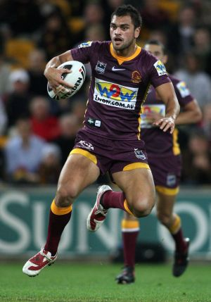 Karmichael Hunt enjoyed a stellar early career with the Broncos in the NRL.