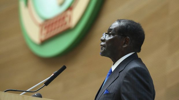 """Mugabe: """"Friends we shall have, yes, but imperialists and colonialists no more."""""""