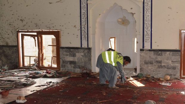 At least 60 people were killed in the powerful explosion at the crowded Shiite mosque in Pakistan during Friday prayers.