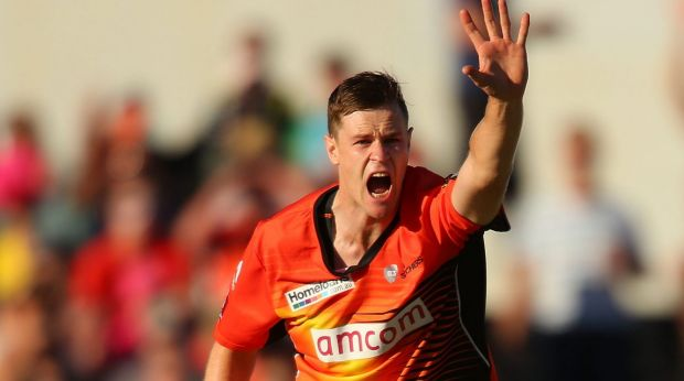 Canberra product Jason Behrendorff will play in front of his home crowd.