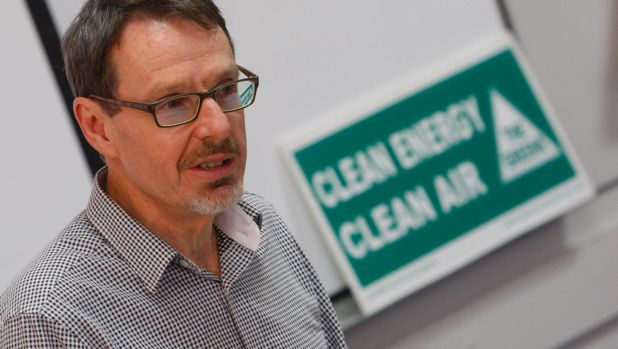 Diverted funds: Greens MP John Kaye says private schools are using governent funding to build luxury facilities.