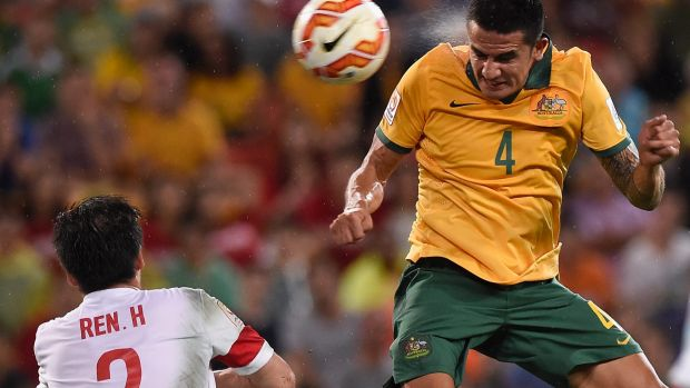 Grilled over money: Tim Cahill.