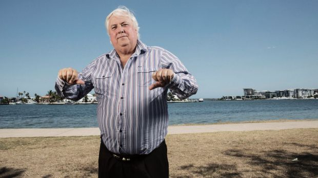 """SBS wasn't supposed to be purely commercial"": Clive Palmer."