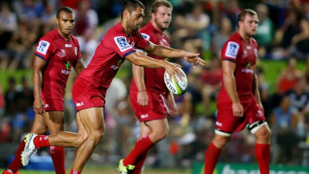 Karmichael Hunt's long kicking game was a bonus for the Reds.