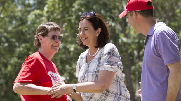 Annastacia Palaszczuk has so far refused to claim overall victory from Saturday's election.