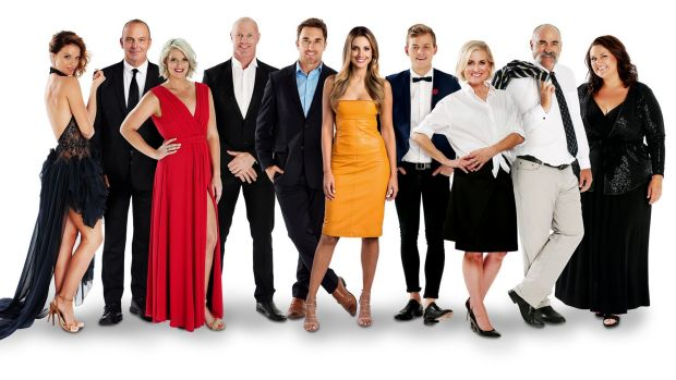 The cast of <i>I'm a Celebrity ... Get Me Out of Here!</i>.