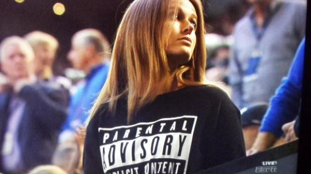 The cheeky response by Andy Murray's fiancee Kim Sears to the uproar about her expletives during the men's semi-final of ...