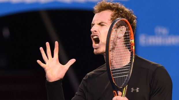 Britain's Andy Murray admits he was distracted by Novak Djokovic's injury woes during the men's singles final at the ...