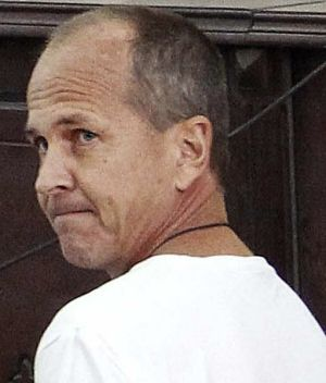 Released after 400 days: Al-Jazeera English correspondent Peter Greste in an Cairo court in March 2014.