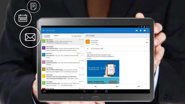 Microsoft's Outlook app for iOS and Android smartphones and tablets is a huge improvement over their its previous ...