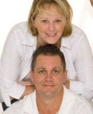 Charged with attempted murder: Sharon Yarnton, with her husband Dean.
