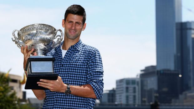 """They are knocking on the door but still if you see the winners of the grand slams it is still the top four guys"": Djokovic."
