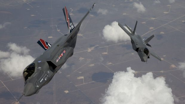 F-35 Lightning II, also known as the Joint Strike Fighter.